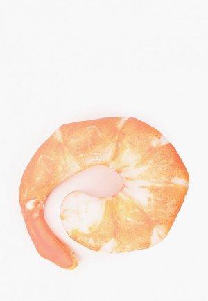 Подушка декоративная Gekoko Креветка. Цвет: оранжевый