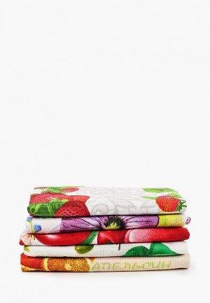 Набор полотенец кухонных Эго 45x60 см.. Цвет: разноцветный