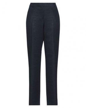Повседневные брюки FULL CIRCLE. Цвет: темно-синий
