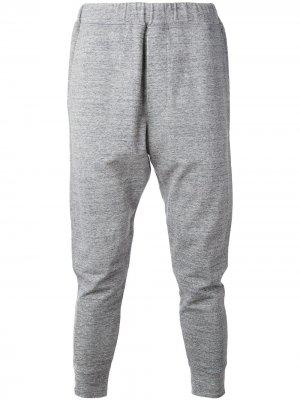 Спортивные штаны узкого кроя Dsquared2. Цвет: серый