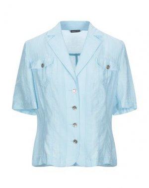 Pубашка BARBARA LEBEK. Цвет: небесно-голубой