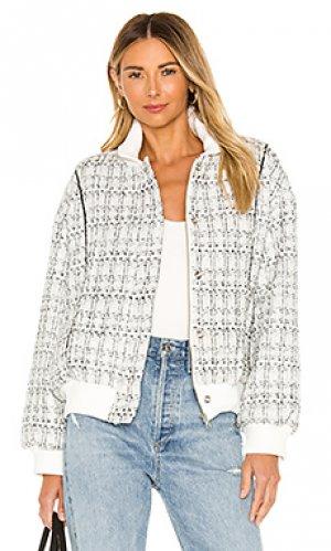 Куртка clara Lovers + Friends. Цвет: белый