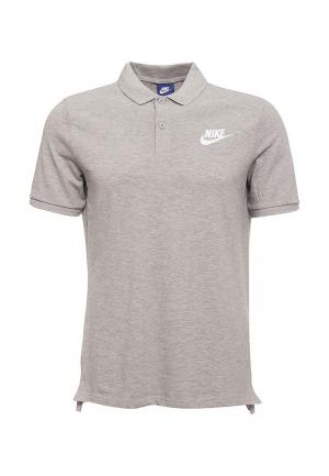 Поло Nike MENS SPORTSWEAR POLO. Цвет: серый