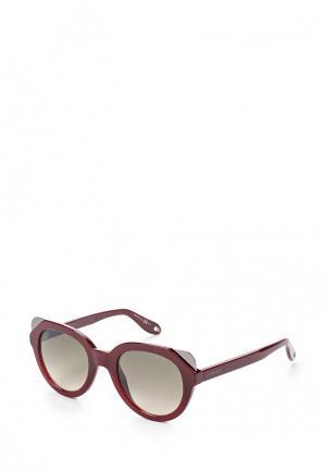Очки солнцезащитные Givenchy GI007DWTHK33. Цвет: бордовый