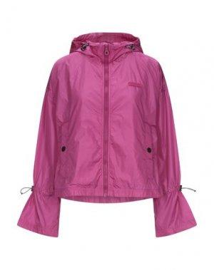 Куртка DUVETICA. Цвет: розовато-лиловый