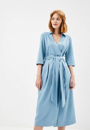 Платье Chapurin STUDIO. Цвет: голубой