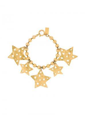 Браслет Bobble с подвесками в форме звезд Kenzo Pre-Owned. Цвет: золотистый