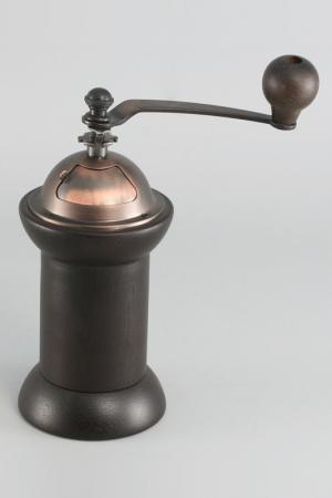 Кофемолка деревянная 9,5х20 см Gipfel. Цвет: коричневый