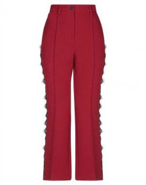 Повседневные брюки DENNY ROSE. Цвет: красный