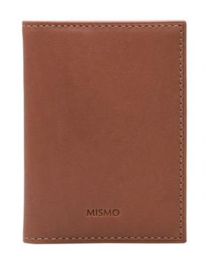 Чехол для документов MISMO. Цвет: коричневый