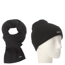 Шарф и шапка K50K505077 черный CALVIN KLEIN