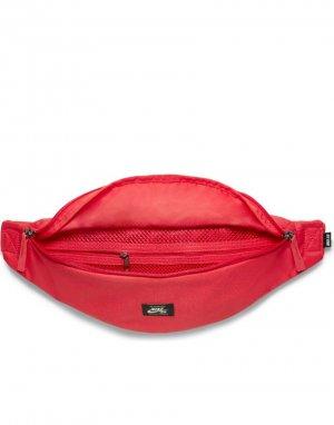 Сумка-кошелек на пояс красного цвета Heritage-Красный Nike SB