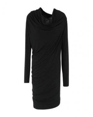 Платье до колена DONNA KARAN. Цвет: черный