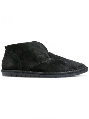 Ботинки-дезерты без застежки Marsèll. Цвет: черный