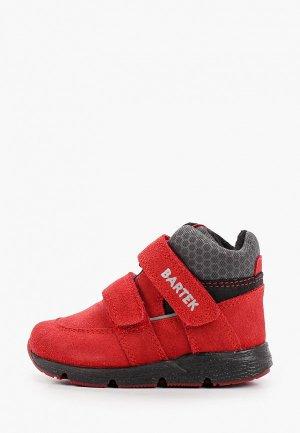 Ботинки Bartek. Цвет: красный