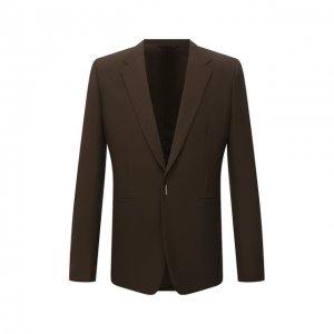Шерстяной пиджак Givenchy. Цвет: хаки