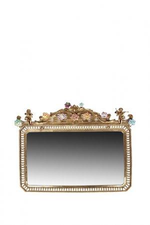 Зеркало 80x61x6 см ГЛАСАР. Цвет: бронзовый