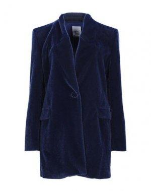 Пальто JIJIL. Цвет: синий