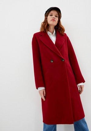 Пальто Gerard Darel. Цвет: красный