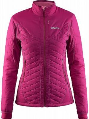 Куртка утепленная женская , размер 44 Craft. Цвет: розовый