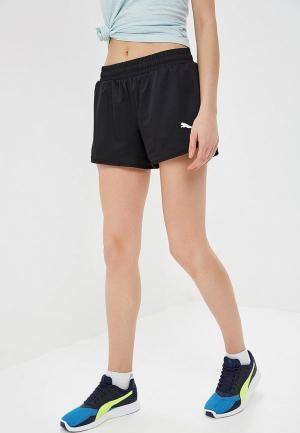 Шорты спортивные PUMA Active Woven Shorts. Цвет: черный