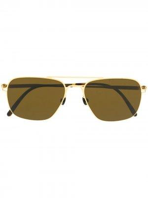 Солнцезащитные очки Clipper Haffmans & Neumeister. Цвет: золотистый