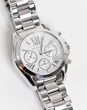 Серебристые часы Bradshaw MK6174-Серебристый Michael Kors