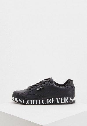 Кеды Versace Jeans Couture. Цвет: черный