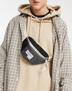 Черно-серая сумка-кошелек на пояс Springer-Черный цвет Eastpak