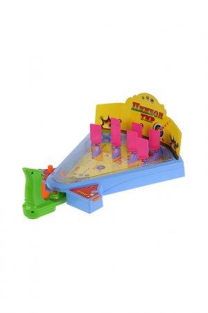 Настольная игра Пинбол и тир Играем вместе. Цвет: желтый