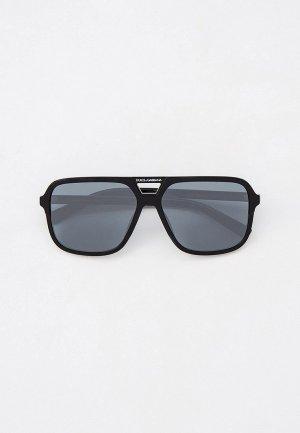 Очки солнцезащитные Dolce&Gabbana DG4354 32986G. Цвет: черный