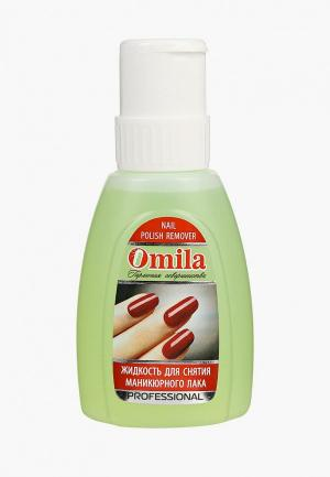 Средство для снятия лака Omila Нежность, 300 мл. Цвет: зеленый
