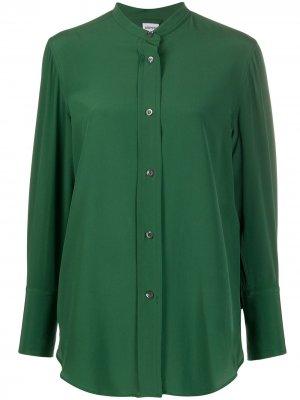 Рубашка без воротника Aspesi. Цвет: зеленый
