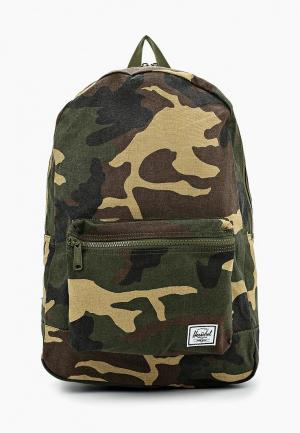 Рюкзак Herschel Supply Co Daypack. Цвет: хаки