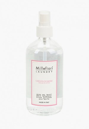Духи для текстиля Millefiori Milano LAUNDRY Шепот водопада FABRIC REFRESHENER CASCATA DI GLICINE. Цвет: прозрачный