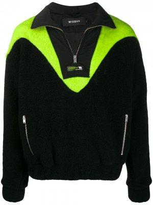 Куртка на молнии Misbhv. Цвет: черный
