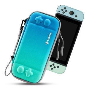Тонкий чехол для Nintendo Switch Lite SHEIN. Цвет: зелёный