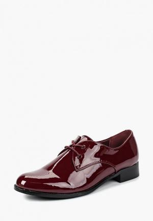 Ботинки T.Taccardi. Цвет: бордовый
