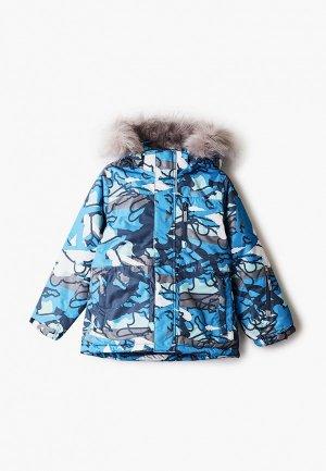 Куртка утепленная Kuoma. Цвет: синий