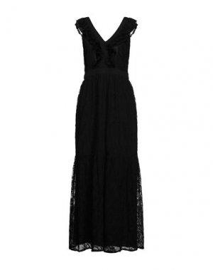 Длинное платье LIU •JO. Цвет: черный