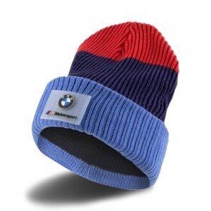 Шапка BMW M MTSP Beanie PUMA. Цвет: синий