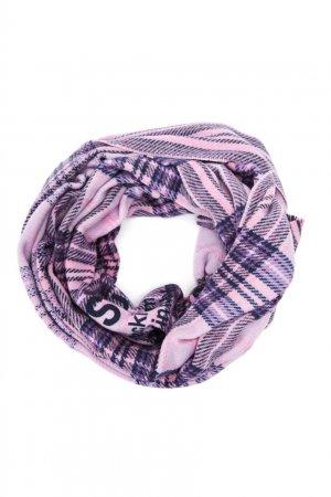 Шерстяной шарф в клетку Acne Studios. Цвет: фиолетовый