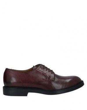 Обувь на шнурках CALPIERRE. Цвет: красно-коричневый
