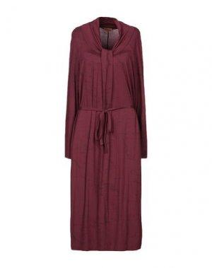 Платье до колена ALVIERO MARTINI 1a CLASSE. Цвет: красно-коричневый