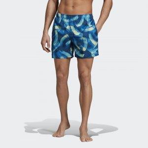 Пляжные шорты Parley Allover Print Performance adidas. Цвет: синий