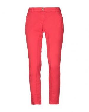 Повседневные брюки COAST WEBER & AHAUS. Цвет: красный