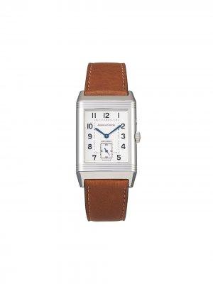 Наручные часы Reverso Duoface pre-owned 26 мм 1996-го года Jaeger-LeCoultre. Цвет: серебристый