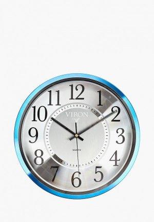 Часы настенные Viron. Цвет: синий