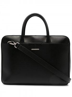 Tods портфель Timeless среднего размера Tod's. Цвет: черный