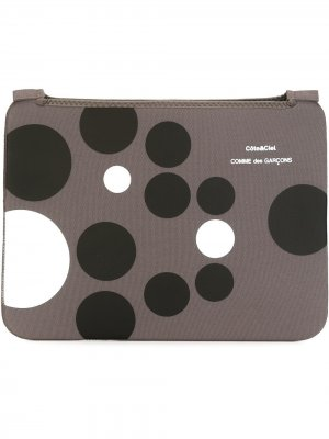 Чехол для ноутбука Comme des Garçons Wallet x Côte&Ciel. Цвет: серый